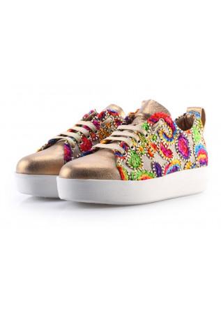 Scarpe Donna Sneakers Oro ANDIAFORA