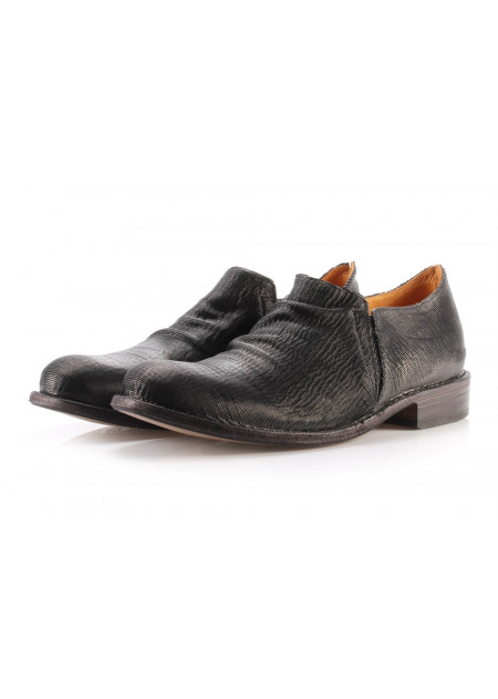 MEN'S SHOES FLAT SHOES BLACK FIORENTINI + BAKER