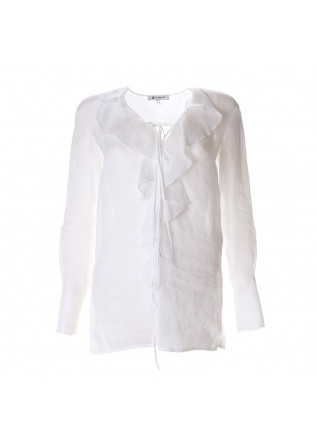 WOMEN'S CLOTHING SHIRT WHITE DONDUP