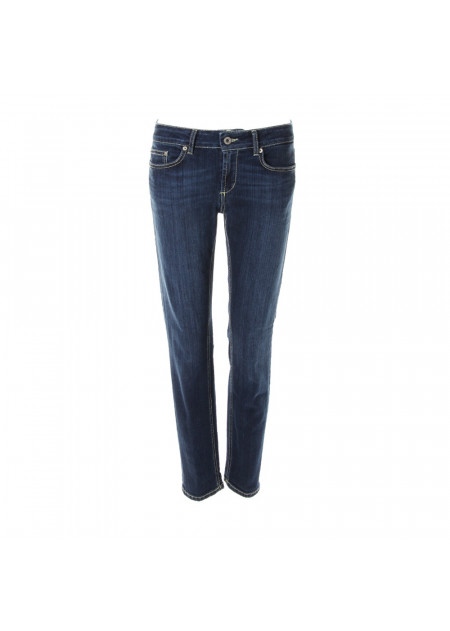 WOMEN'S CLOTHES JEANS DARK BLUE SKINNY FIT DONDUP
