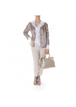 WOMEN'S CLOTHING TROUSERS BEIGE MERCI