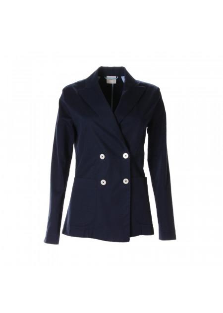 WOMEN'S CLOTHING JACKETS BLAZER BLUE MERCI