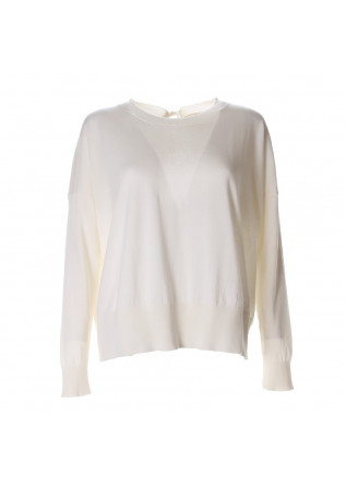 WOMEN'S CLOTHING KNITWEAR WHITE SEMICOUTURE