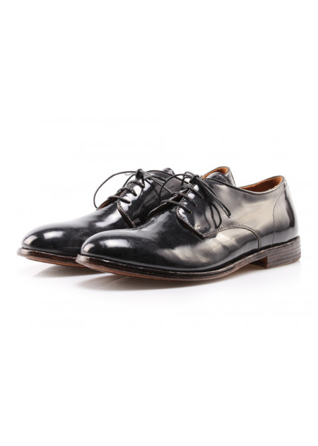 MEN'S SHOES LACE-UP SHOES DARK GREY MOMA