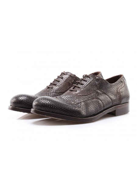 MEN'S SHOES LACE-UP BROWN PAWELK'S