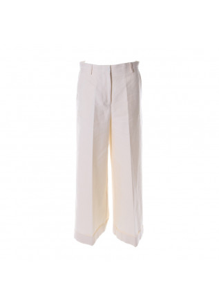 WOMEN'S CLOTHING TROUSERS WHITE JUCCA