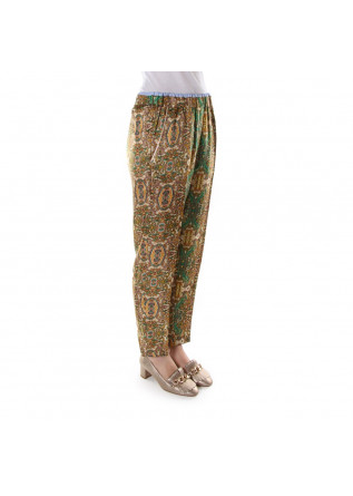 WOMEN'S CLOTHING TROUSERS MULTICOLOR JUCCA