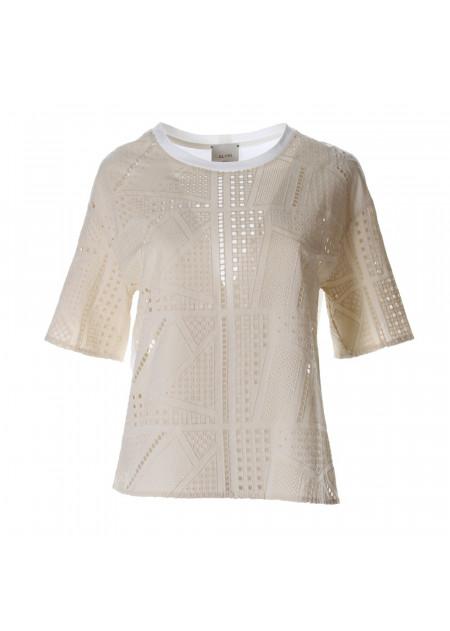 WOMEN'S CLOTHING SHIRT WHITE ALYSI