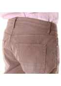CLOTHING TROUSERS BROWN AGLINI